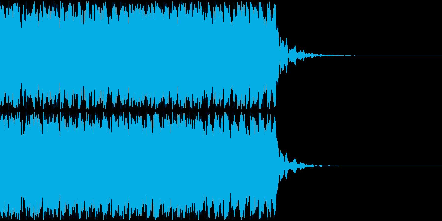【アンビエント】ロング1、ジングル1の再生済みの波形