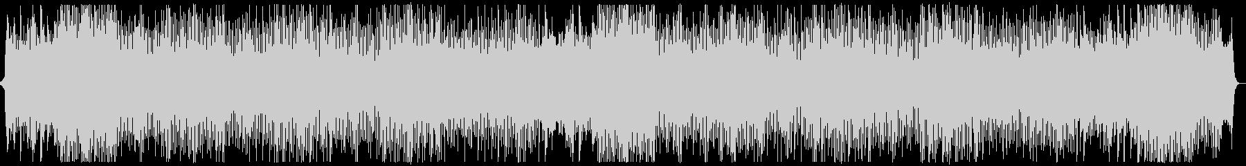 躍動的なシンセポップオーケストラx2の未再生の波形