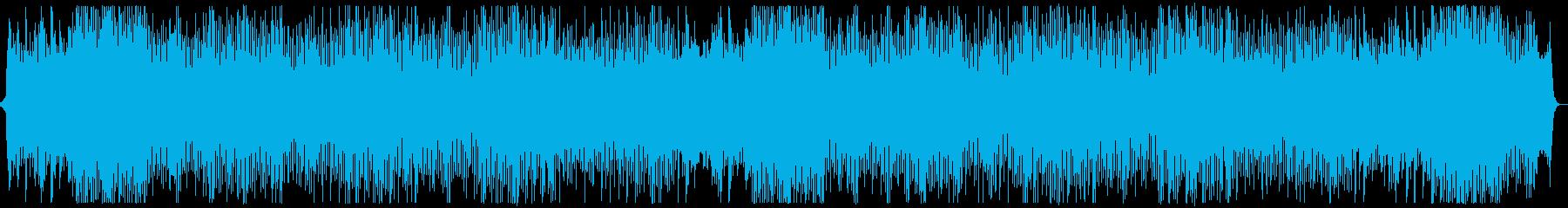 躍動的なシンセポップオーケストラx2の再生済みの波形