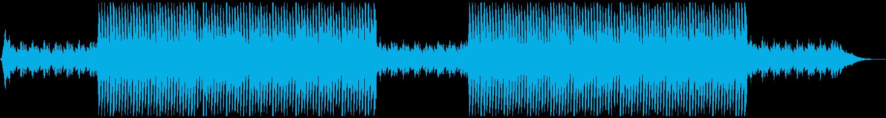 切ない雰囲気のピアノのダンスポップの再生済みの波形