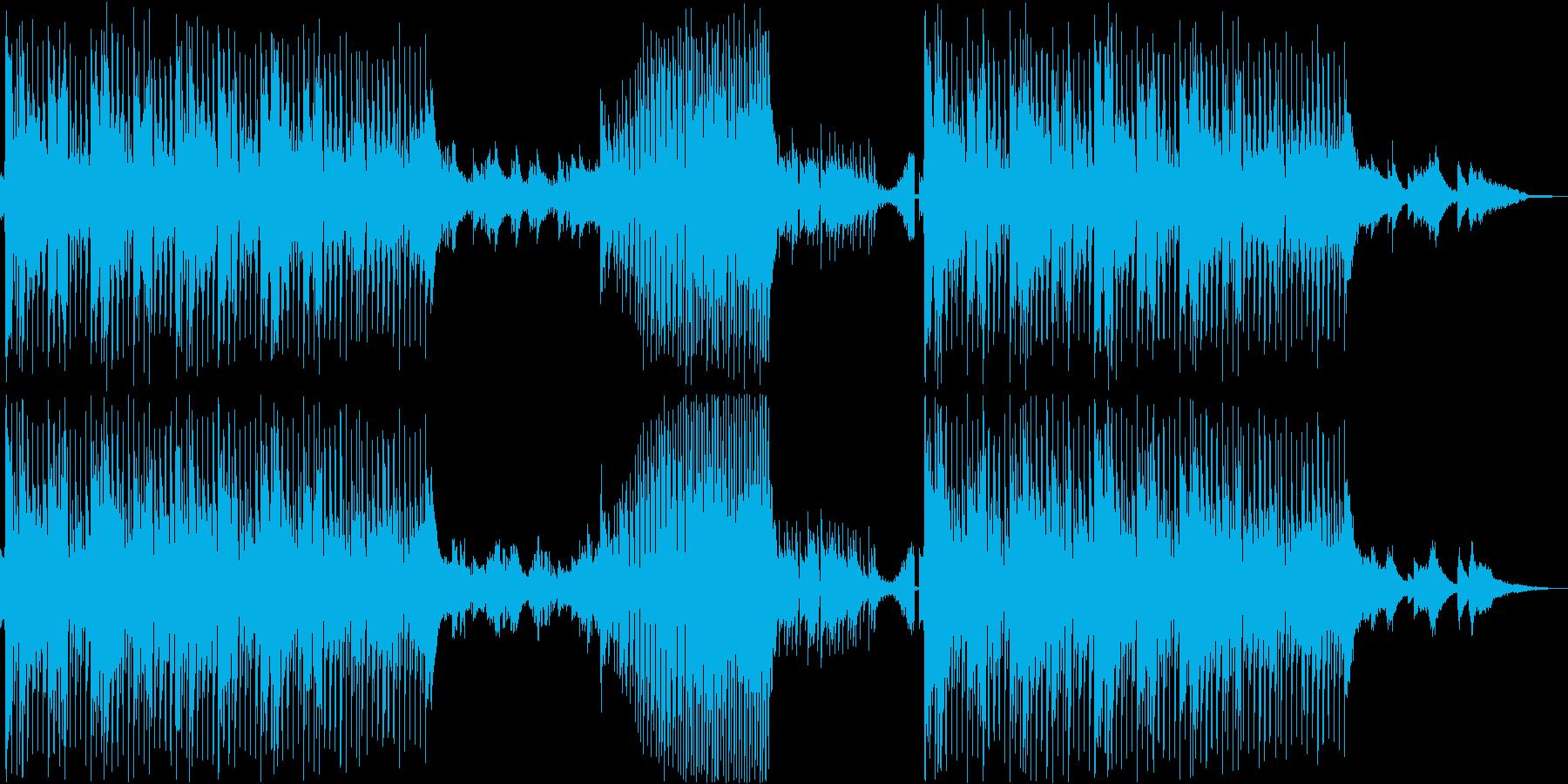 切なさ感じるピアノ主体のハウスBGMの再生済みの波形