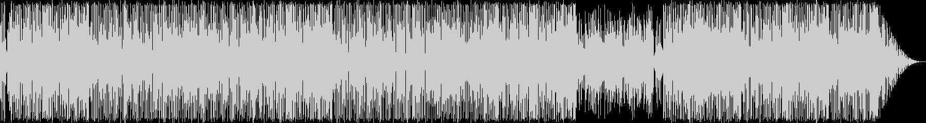 8bitレトロゲーム・ポップな和風BGMの未再生の波形