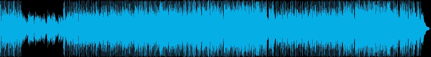 ほのぼのした雰囲気のバラード2の再生済みの波形