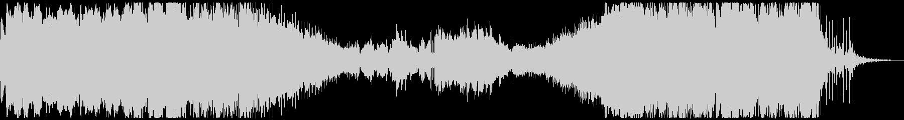 ノスタルジーでローファイなアンビエントの未再生の波形
