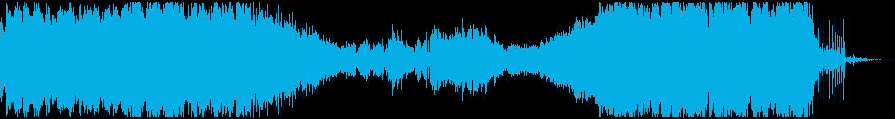 ノスタルジーでローファイなアンビエントの再生済みの波形