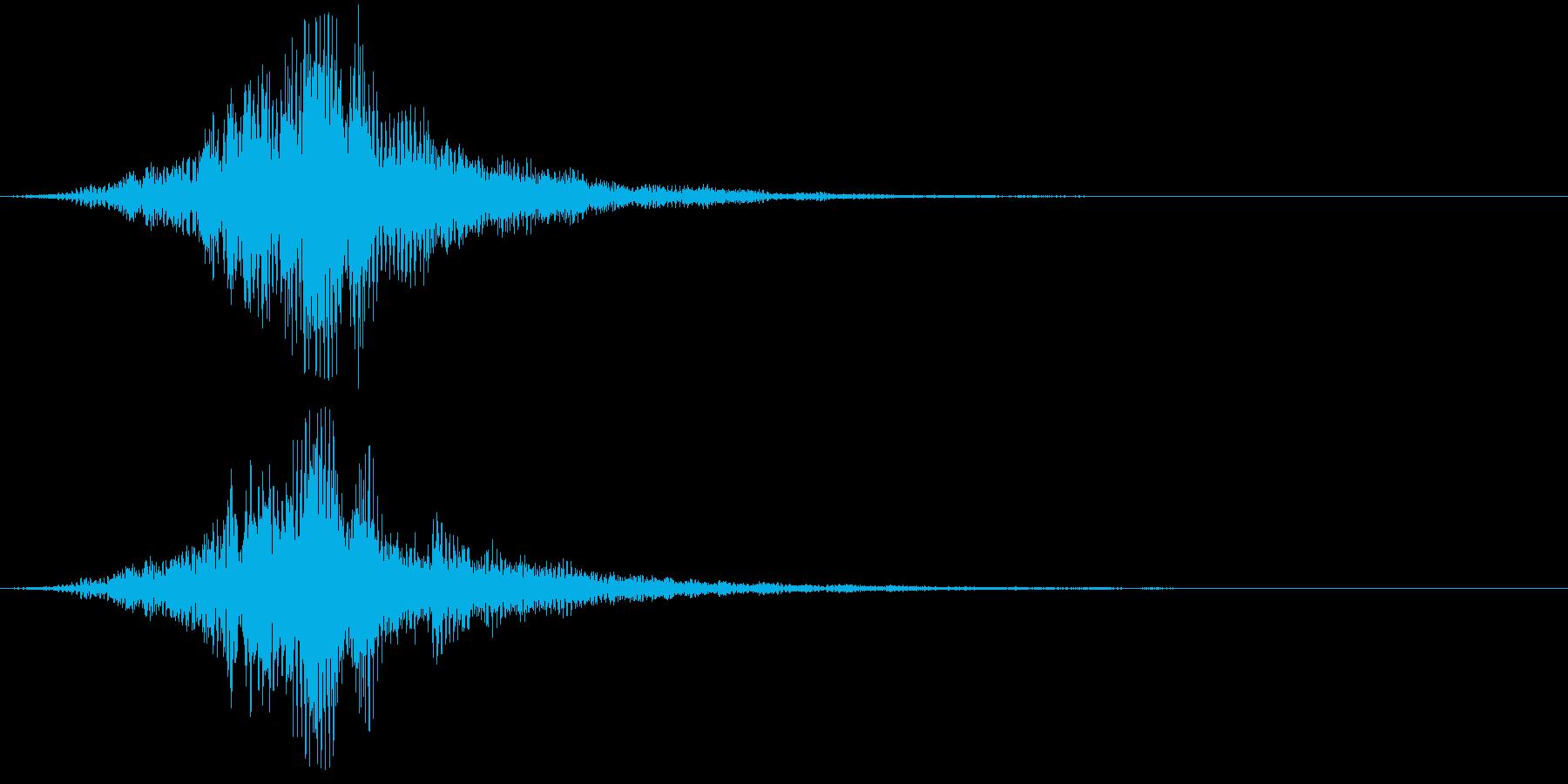 【SF】【SCI-FI】グーンッ・・・の再生済みの波形