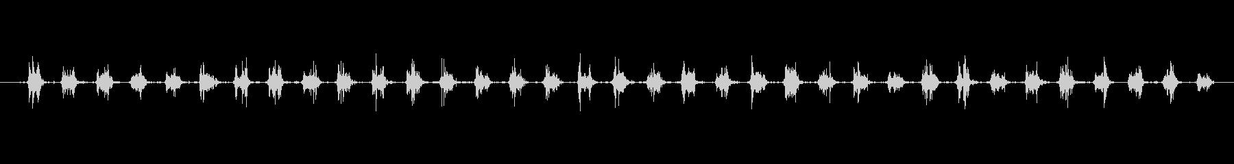 鎧 メタルクラッターマーチスロー01の未再生の波形