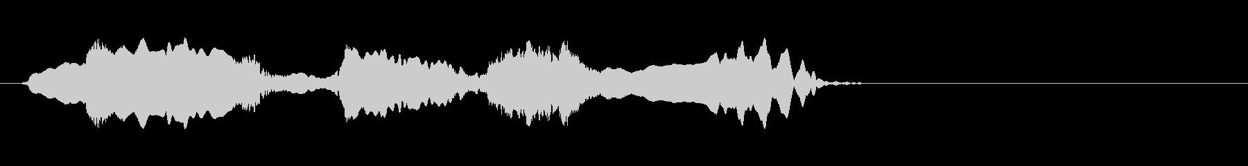 尺八 生演奏 古典風#16の未再生の波形
