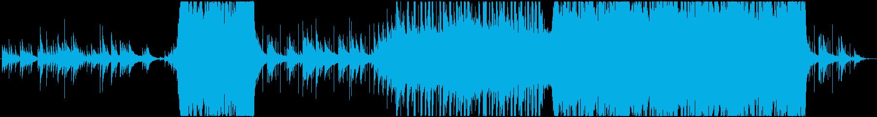 J-Popの王道なバラードの再生済みの波形