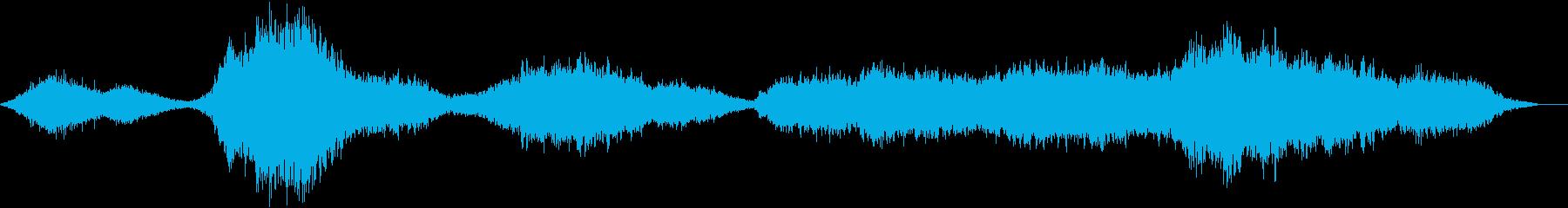 【ホラー】 【映画】 逃亡の再生済みの波形