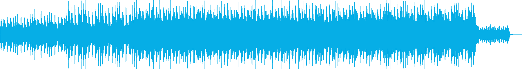 不安定なサウンドで危機感迫る感じのBGMの再生済みの波形