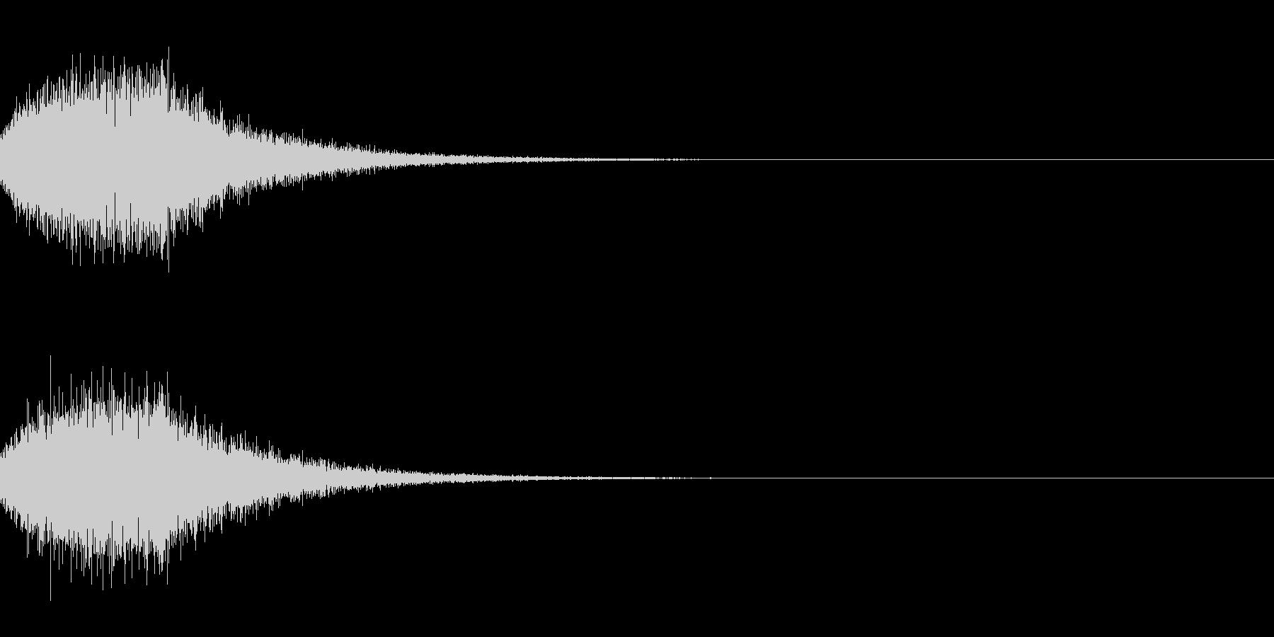[IR]小規模ライブ空間の残響データ01の未再生の波形