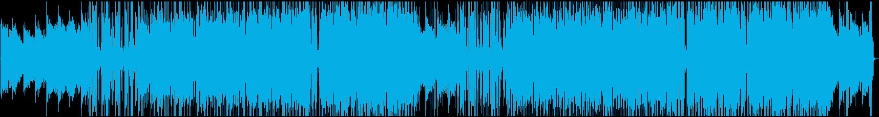 おしゃれでゆったりアシッドジャズの再生済みの波形