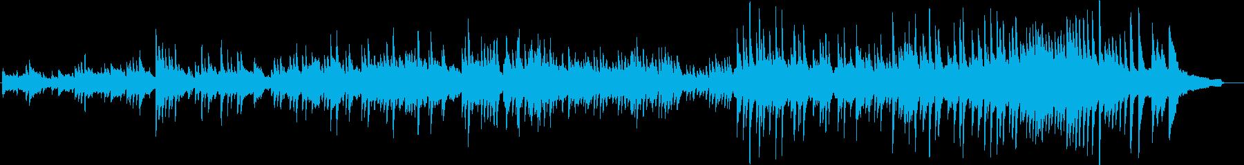生演奏!エンディング感のあるピアノの再生済みの波形