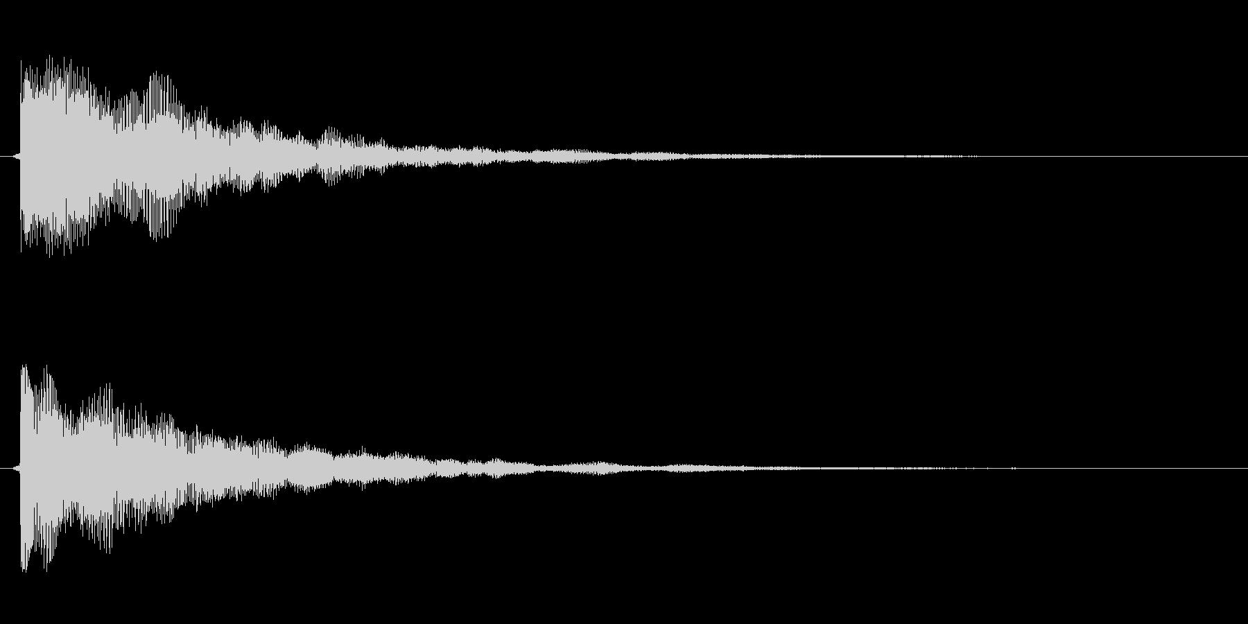 サウンドロゴ(企業ロゴ)_002の未再生の波形