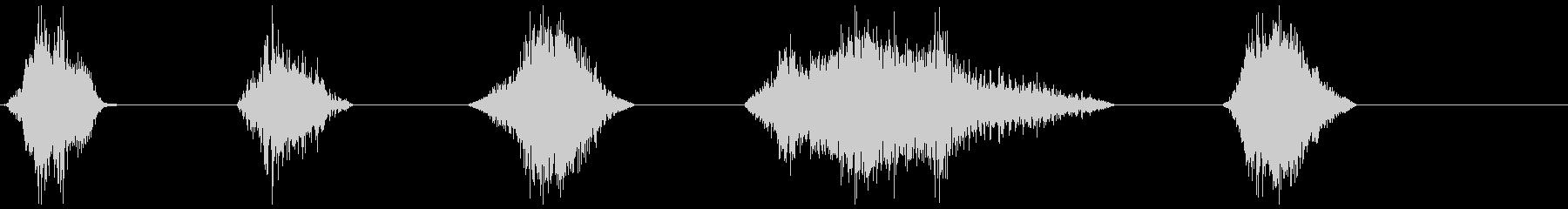 モンスターブレスロア21-25の未再生の波形