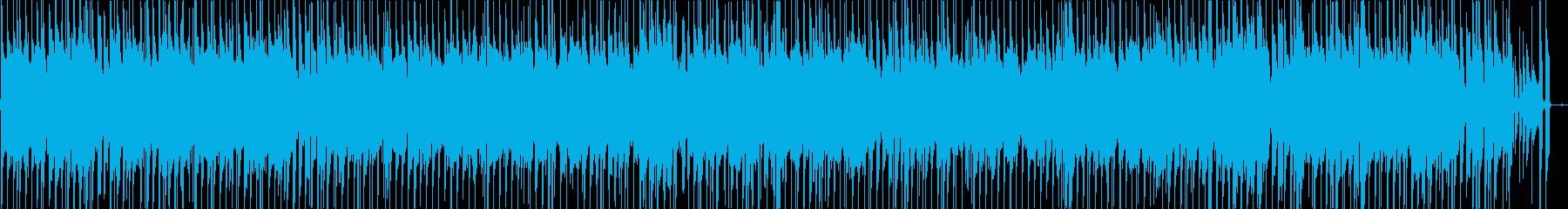 爽やかなギターポップの再生済みの波形