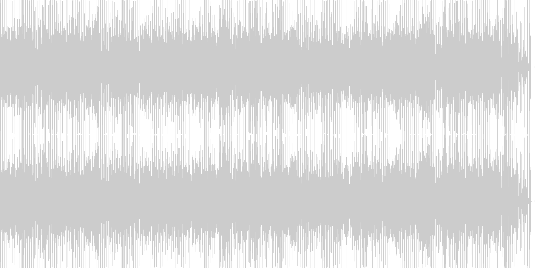 爽やかなギターポップの未再生の波形