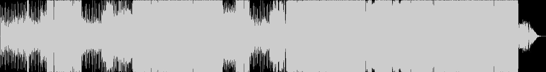 バラードメタル 緊迫性のある重々しい曲の未再生の波形