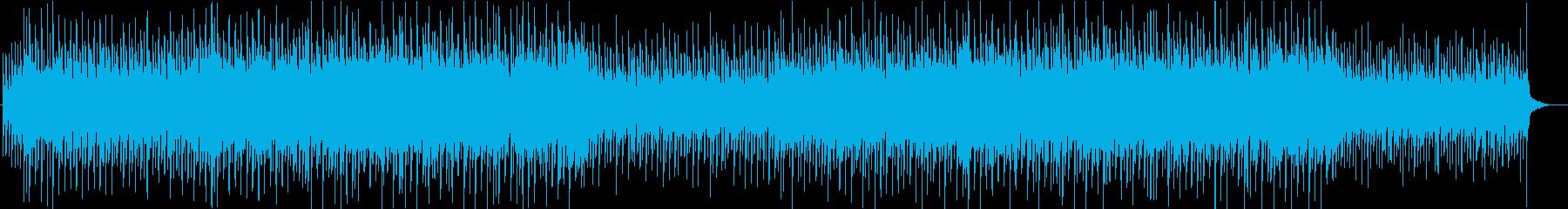 和風な三味線エレクトロの再生済みの波形