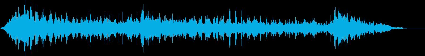 笑い声3の再生済みの波形