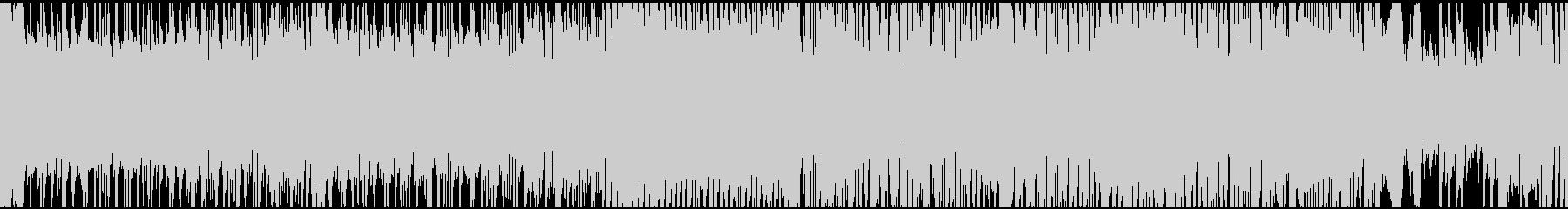 ハイテンションなゴシック戦闘・ループの未再生の波形
