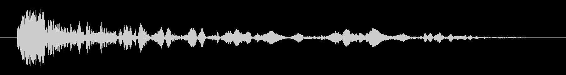 クイックアークストップヒット3の未再生の波形