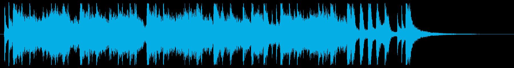 フュージョン ジャズ ファンク ブ...の再生済みの波形