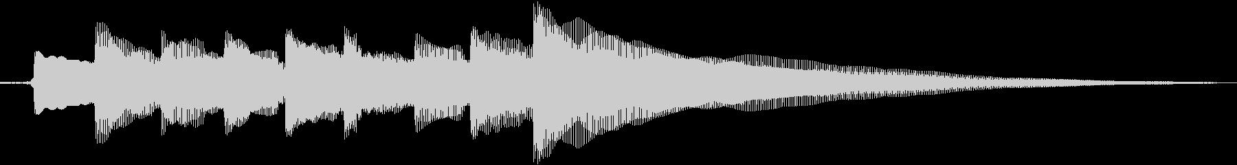 ギタージングル 宿屋2の未再生の波形