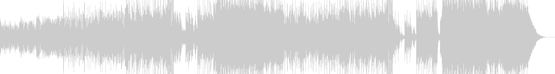 ハロウィンナイト・異世界風ワルツ Bの未再生の波形