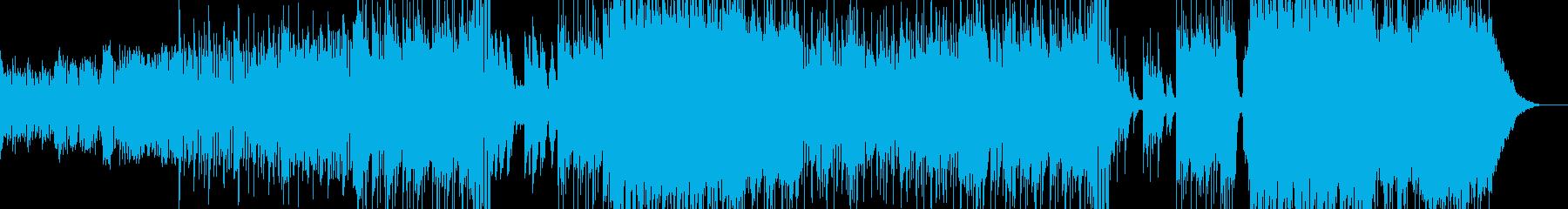 ハロウィンナイト・異世界風ワルツ Bの再生済みの波形