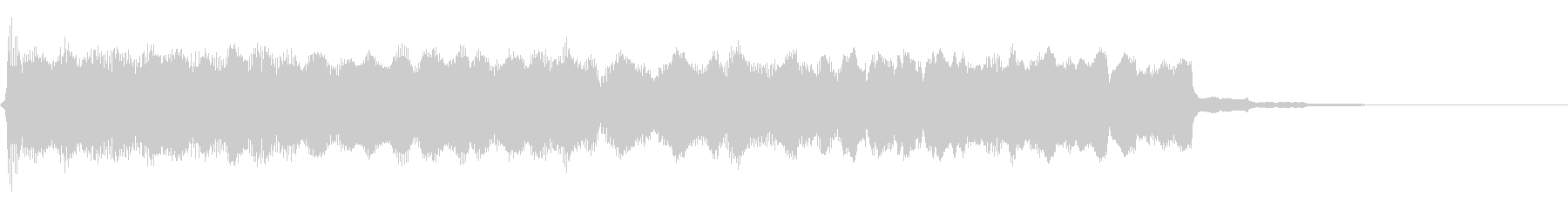 ロックブルースバンパー7の未再生の波形