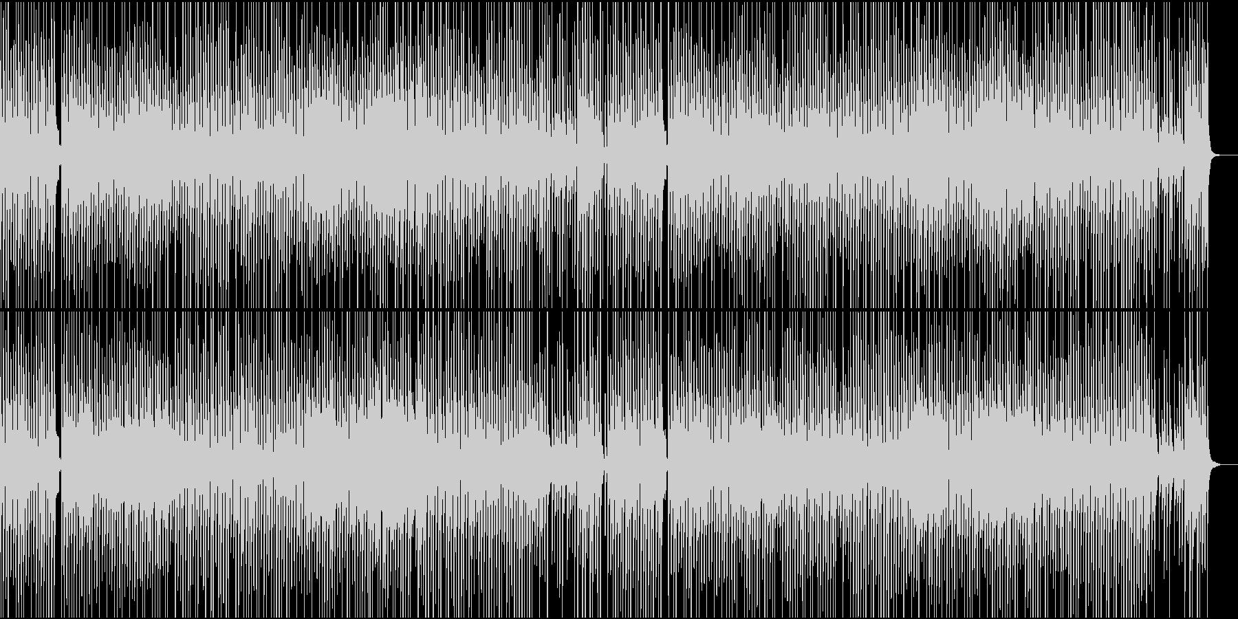 琴他が奏でるほのぼのワルツの未再生の波形