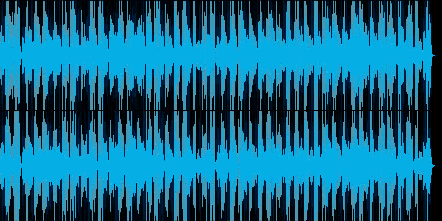 琴他が奏でるほのぼのワルツの再生済みの波形