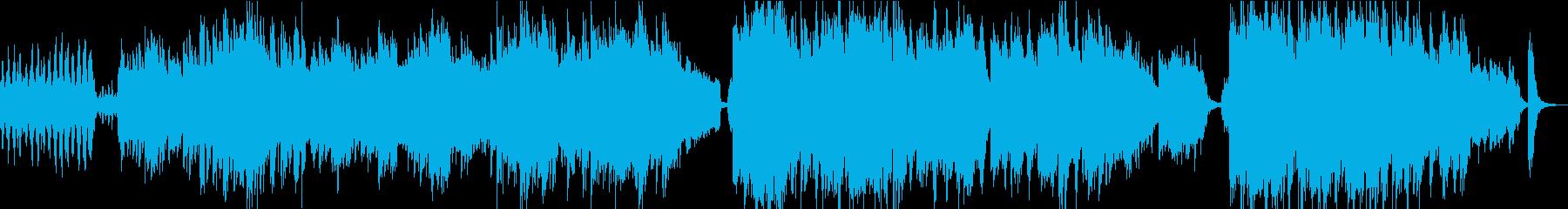 映像・予告編切なく壮大オーケストラBGMの再生済みの波形