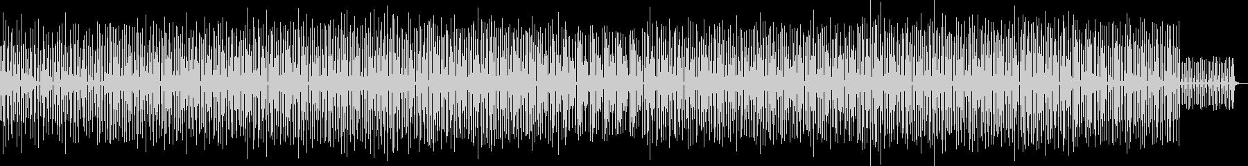 ピコピコ音が楽しいリズミカルなBGMの未再生の波形