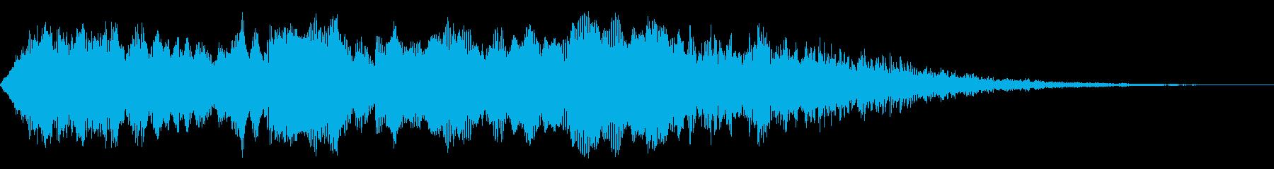 ディープハウリングドローン、ホラー...の再生済みの波形