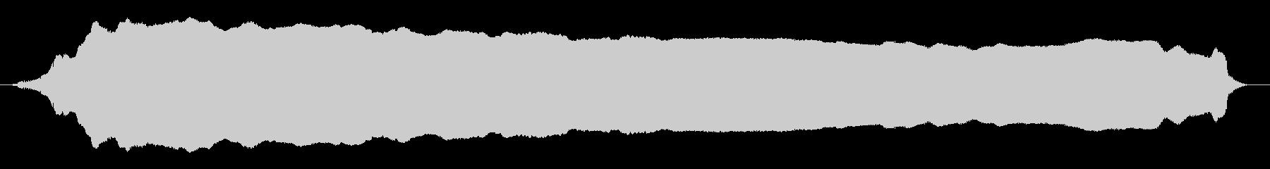 成人女性:ロングエールの未再生の波形