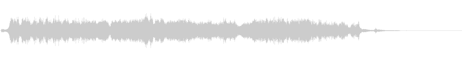 ギギギー(激しいノイズの金属音)の未再生の波形