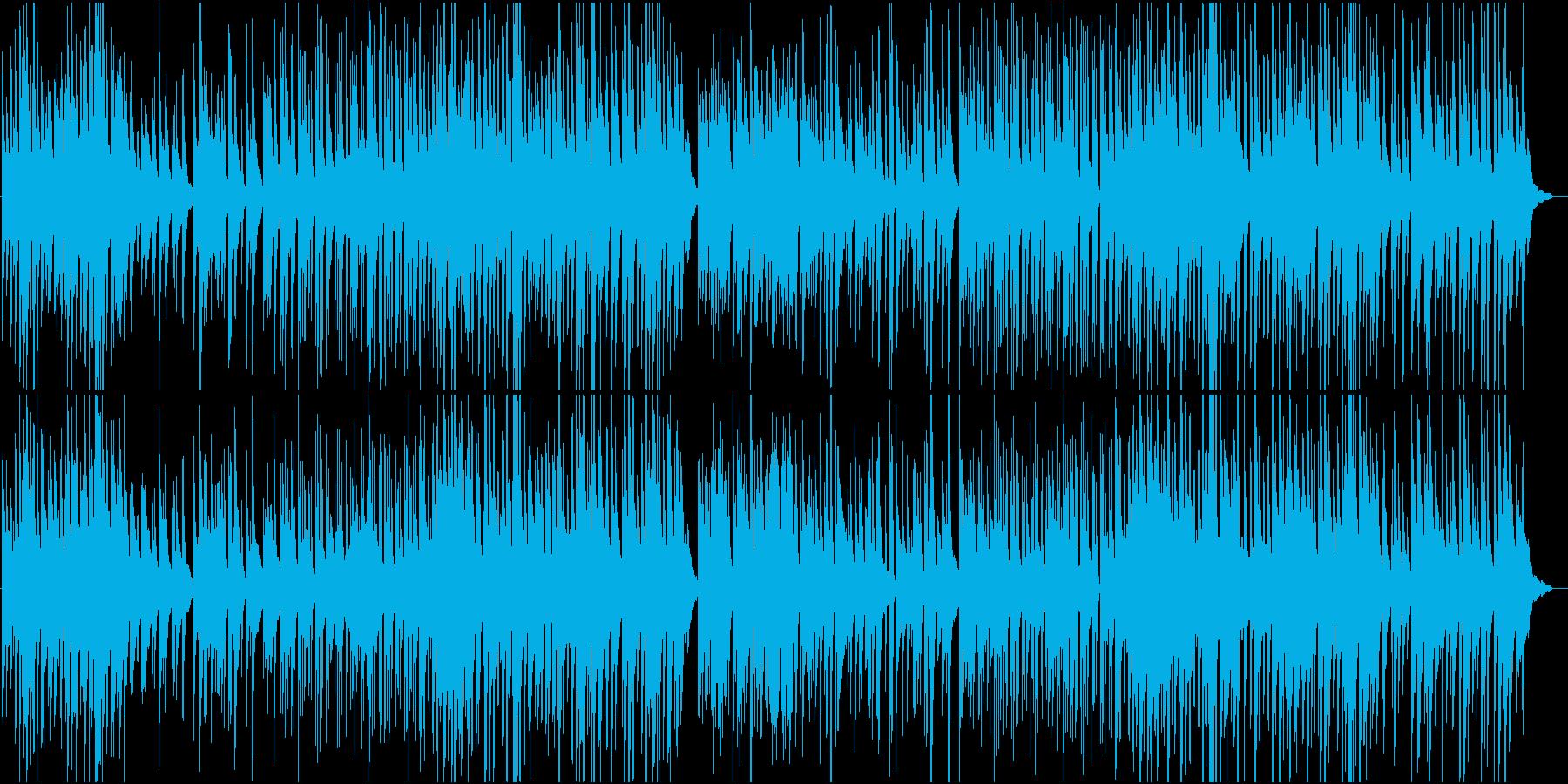 切ないピアノバラードの再生済みの波形