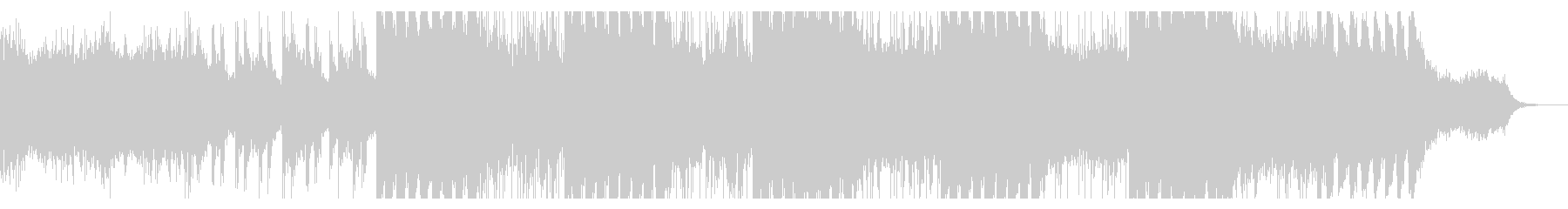 ノイジーなインダストリアルIDMの未再生の波形