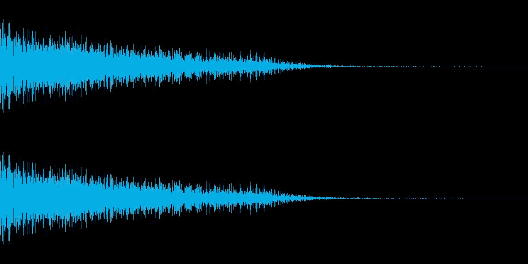 バシューン!(ビームライフルなど)の再生済みの波形