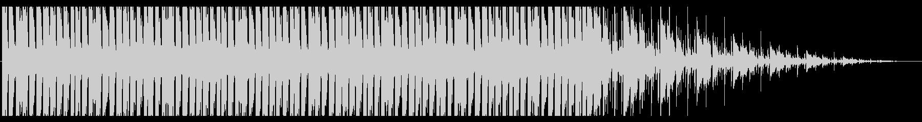 明るいピアノラウンジ_No406_5の未再生の波形