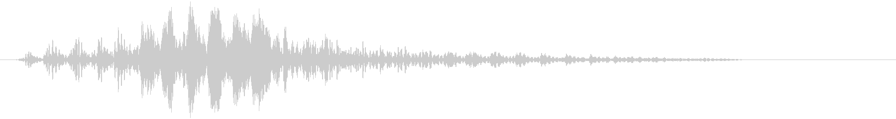 近未来・SF(宇宙船の効果音)_01の未再生の波形