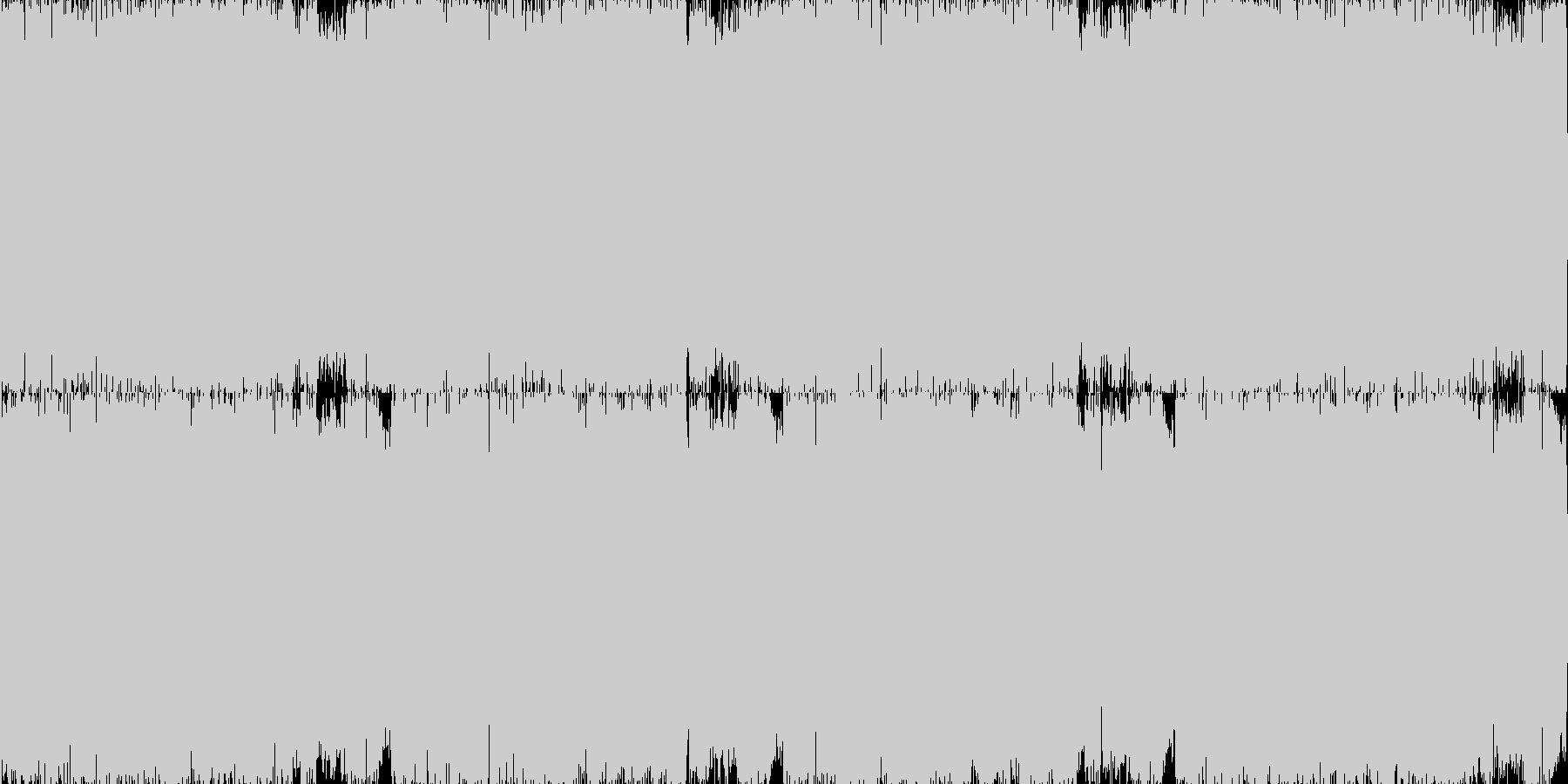 【ギュイーン】パチンコの演出などにの未再生の波形