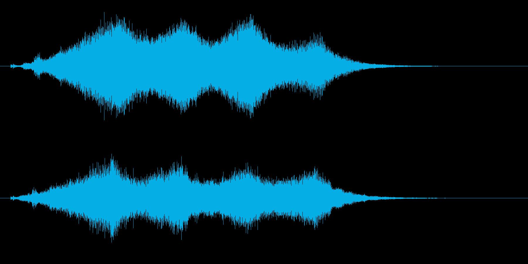 占う2 水晶を覗く効果音 タロットカードの再生済みの波形