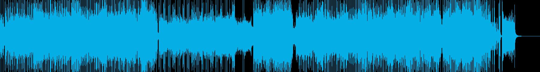スタートダッシュエレキ・ハロウィンロックの再生済みの波形