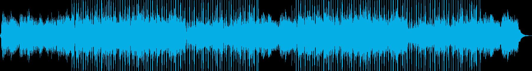 ファンキーでダウンテンポなグルーヴ...の再生済みの波形