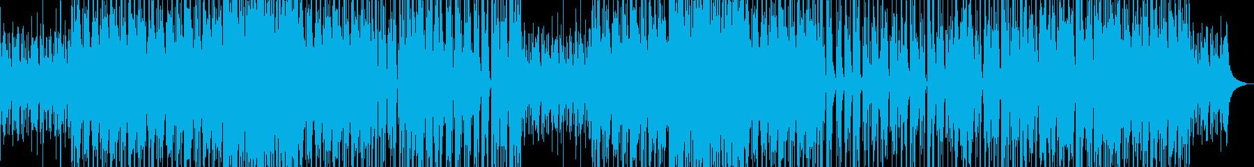 渋いジャジーなピアノワルツの再生済みの波形