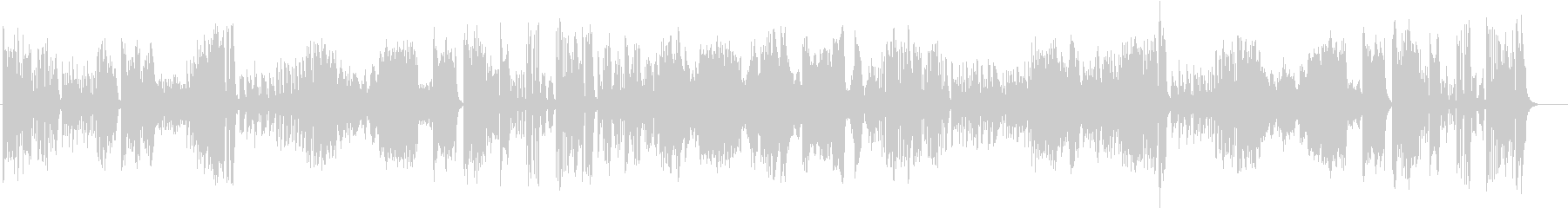 ハイドンのピアノソナタ(第37番)ニ長調の未再生の波形